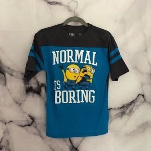 Despicable Me Baseball Short Sleeve Shirt